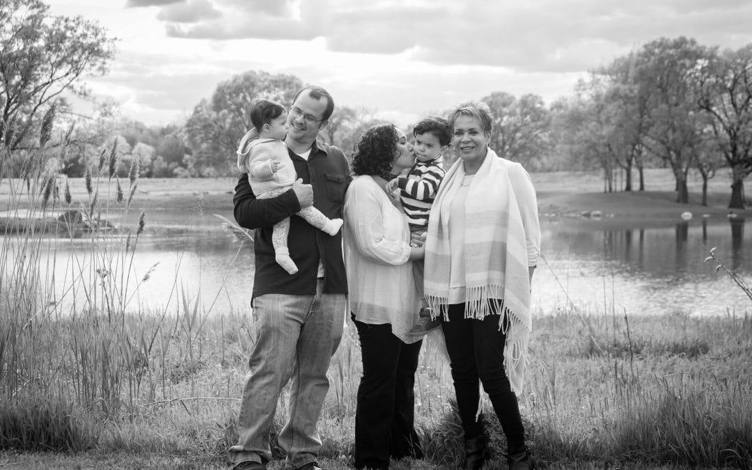 Three Generation Family Photo Session